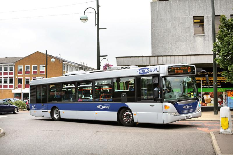 582 YN62CLF, Crawley 21/7/2014