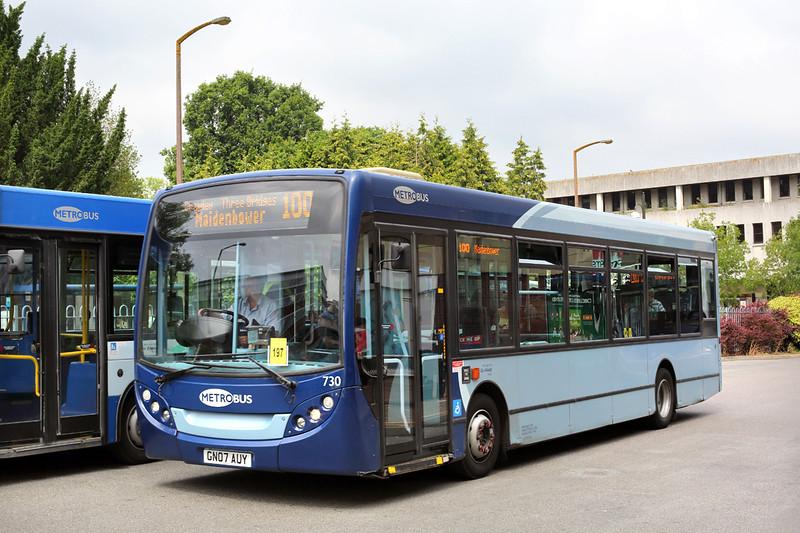 730 GN07AUY, Crawley 21/7/2014