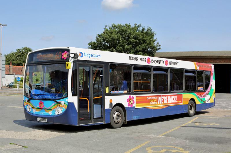 27741 GX11AKU, Chichester 21/7/2014