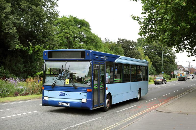 393 P283FPK, Horsham 21/7/2014