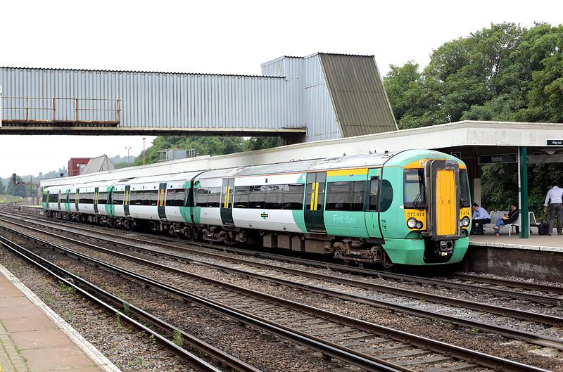377474 Redhill 21/7/2014<br /> 2C62 0900 Horsham-London Bridge