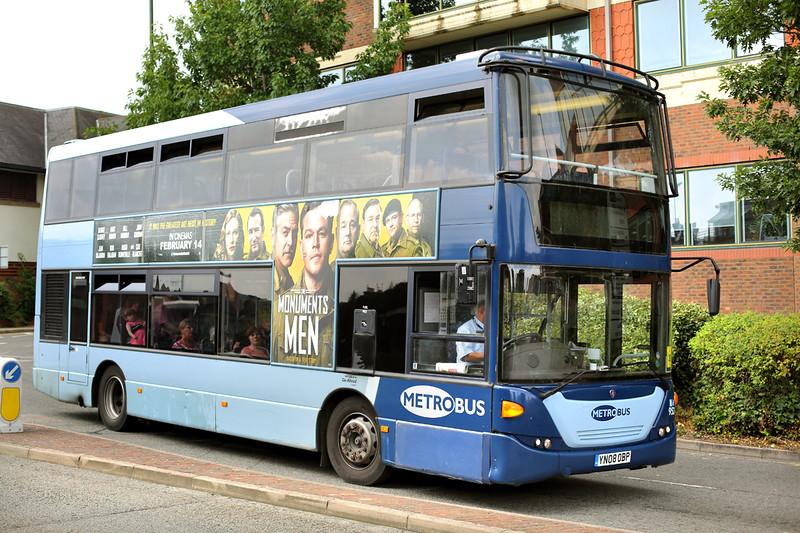 953 YN08OBP, Horsham 21/7/2014
