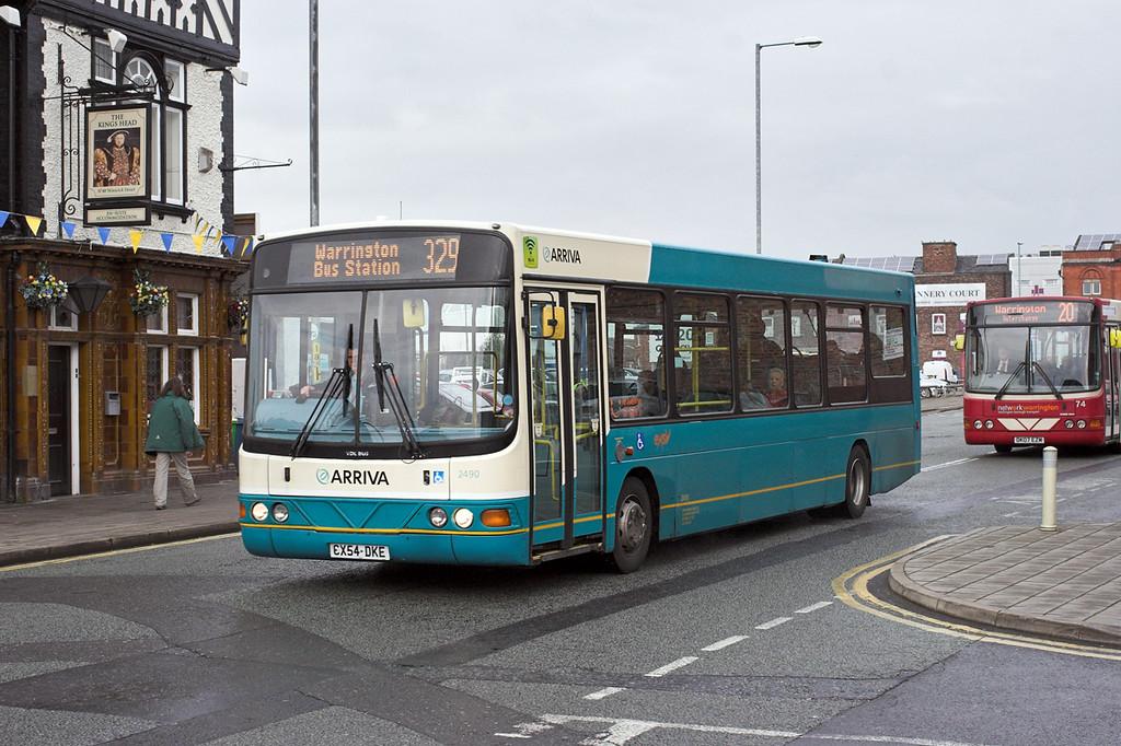 2490 CX54DKE, Warrington 22/4/2014