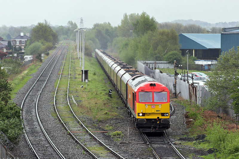 60011 Warrington Latchford 22/4/2014<br /> 6F89 0614 Liverpool Bulk Terminal-Fiddlers Ferry PS