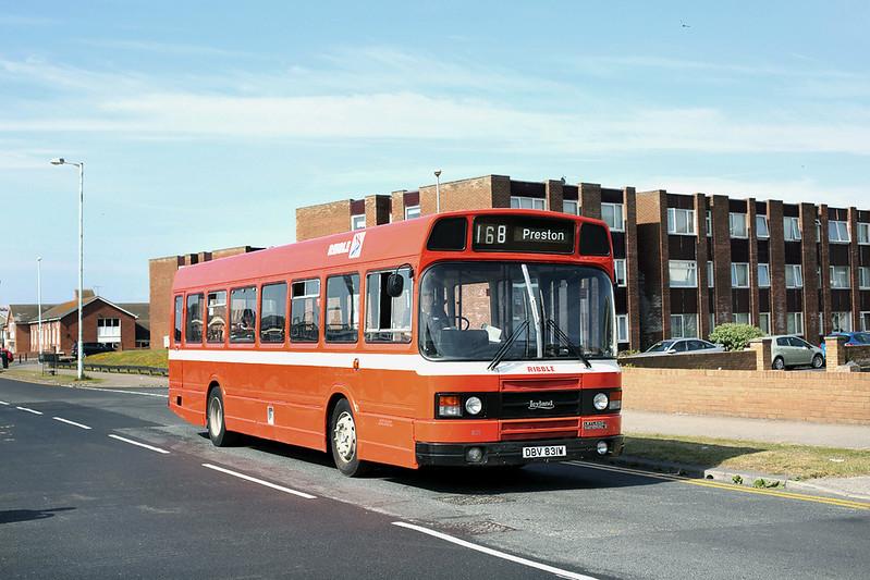 831 DBV831W, Blackpool 22/6/2014