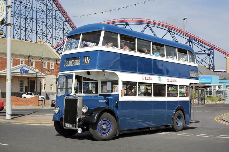 19 GTB903, Blackpool 22/6/2014