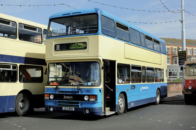 133 A33MRN, Blackpool 22/6/2014