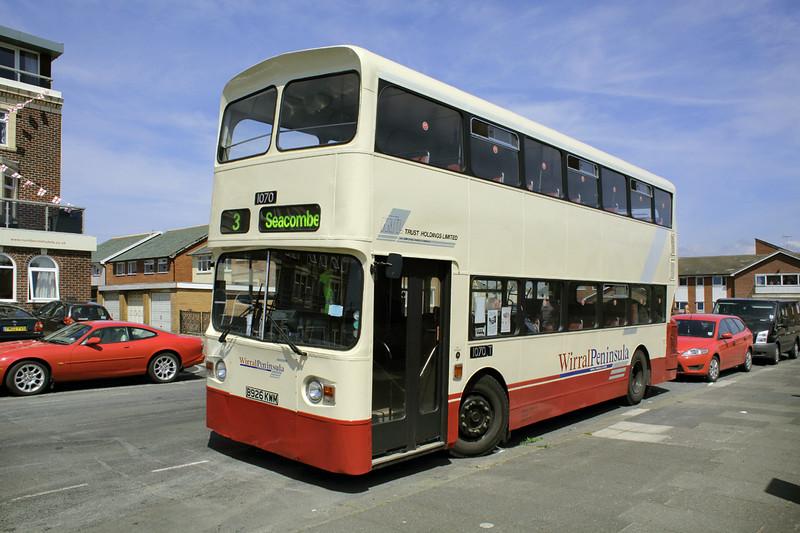 1070 B926KWM, Blackpool 22/6/2014