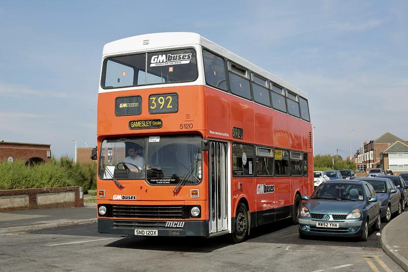 5120 SND120V, Blackpool 22/6/2014