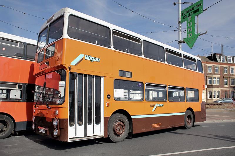 8763 A763NNA, Blackpool 22/6/2014