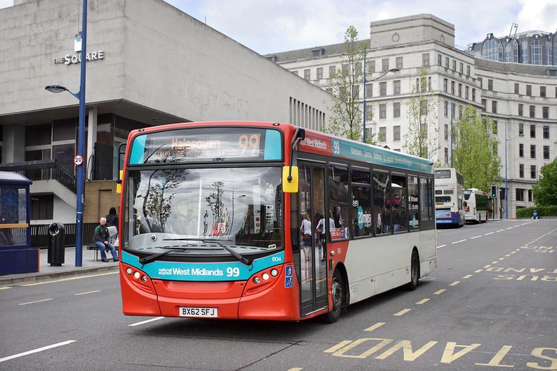 804 BX62SFJ, Birmingham 23/5/2014