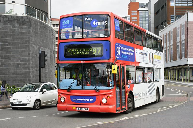 4456 BJ03EVG, Birmingham 23/5/2014