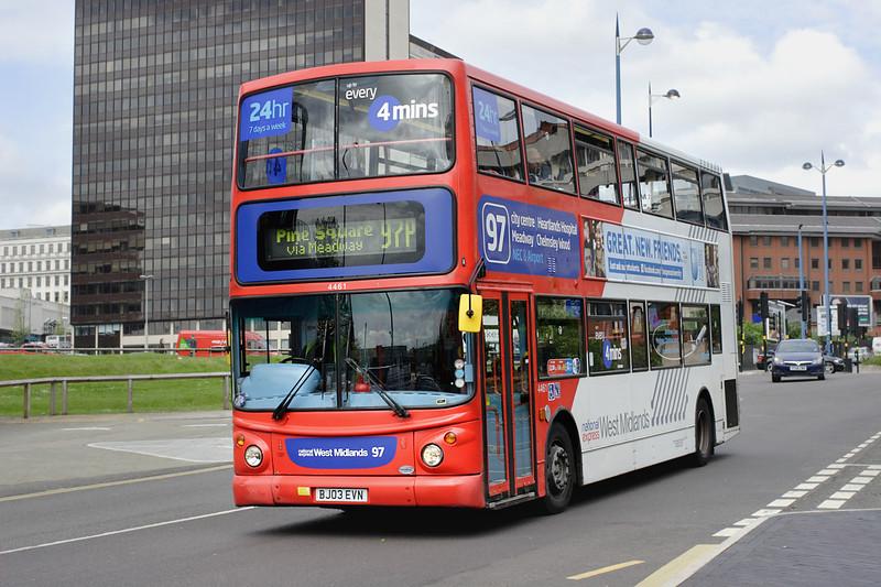 4461 BJ03EVN, Birmingham 23/5/2014