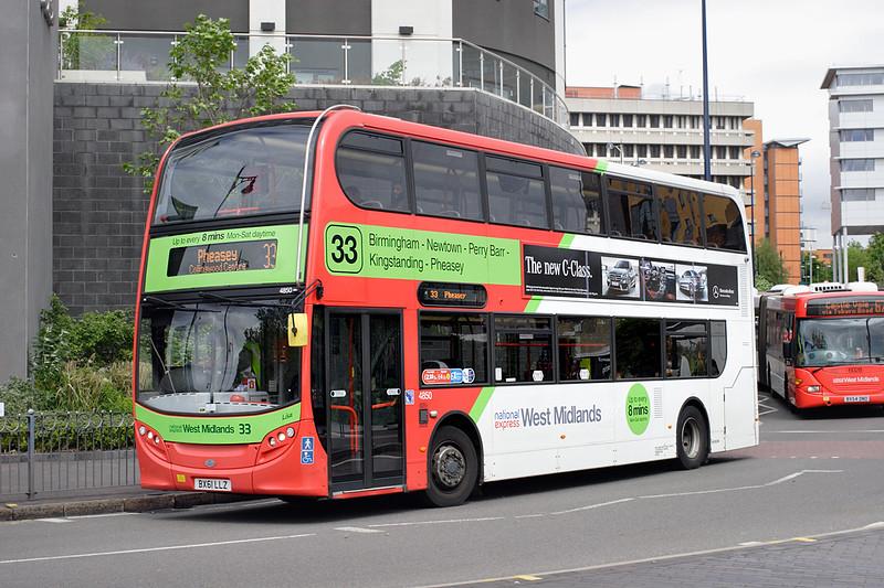 4850 BX61LLZ, Birmingham 23/5/2014