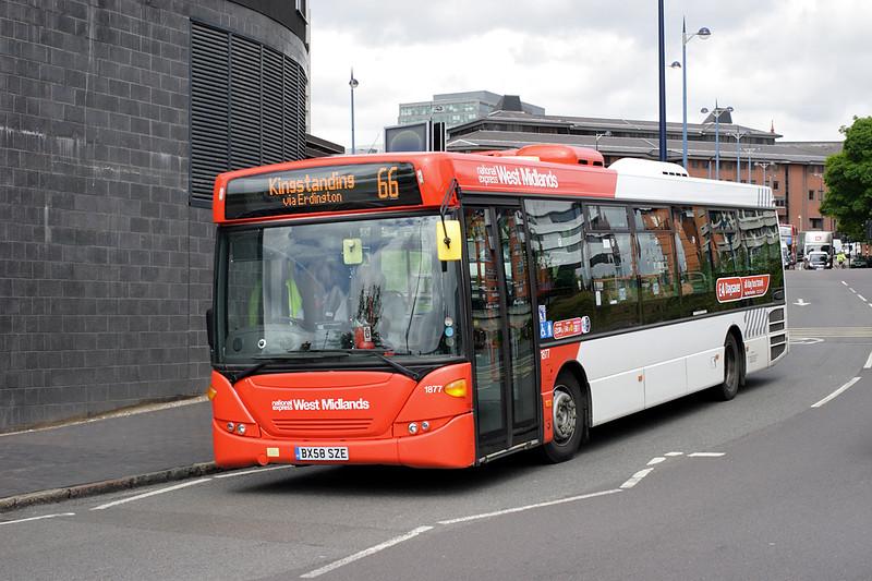 1877 BX58SZE, Birmingham 23/5/2014