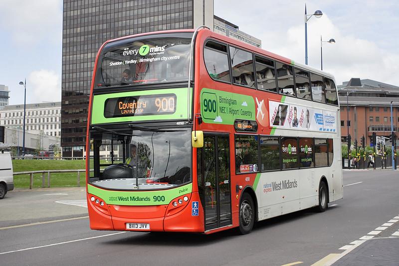 4898 BX13JVV, Birmingham 23/5/2014