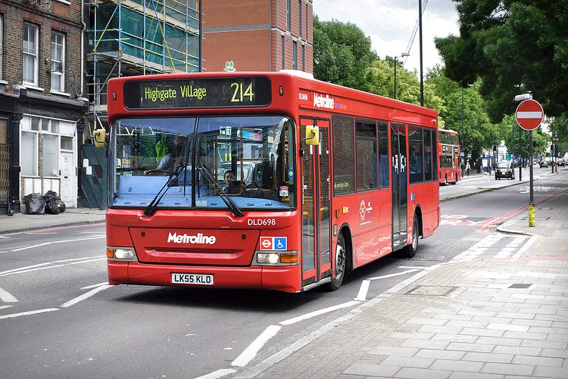 DLD698 LK55KLO, Kings Cross 23/5/2014
