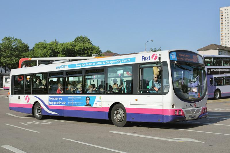 69065 SF06GXU, Glasgow 23/7/2014