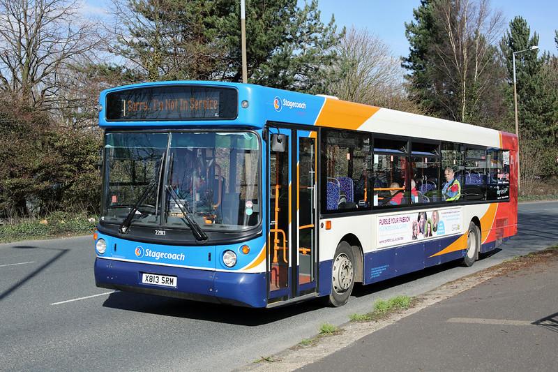 22813 X813SRM, Lancaster 24/3/2014