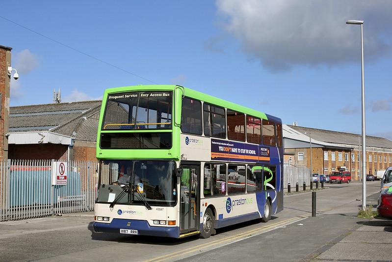 40587 X187RRN, Blackpool 24/9/2014