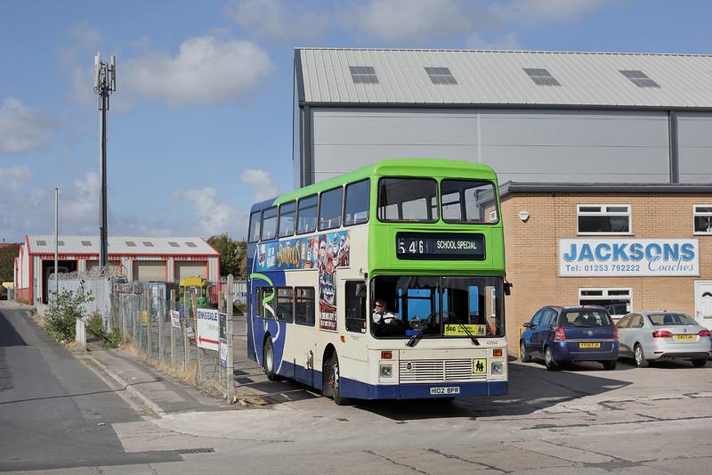42552 H102BFR, Blackpool 24/9/2014