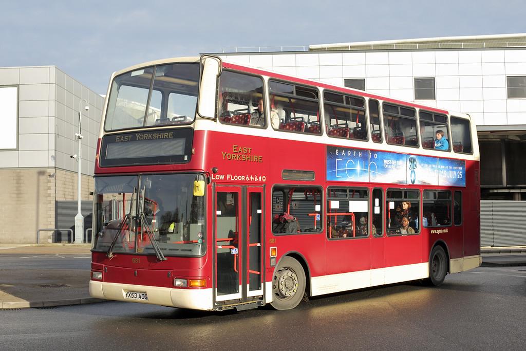 681 YX53AOG, Hull 24/11/2014