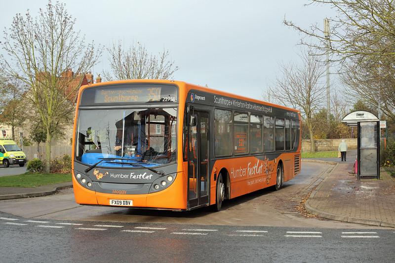 22758 FX09DBV, Barton-on-Humber 24/11/2014