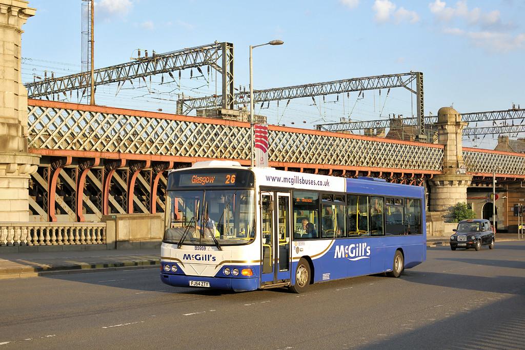 5959 FJ54ZTY, Glasgow 25/7/2014