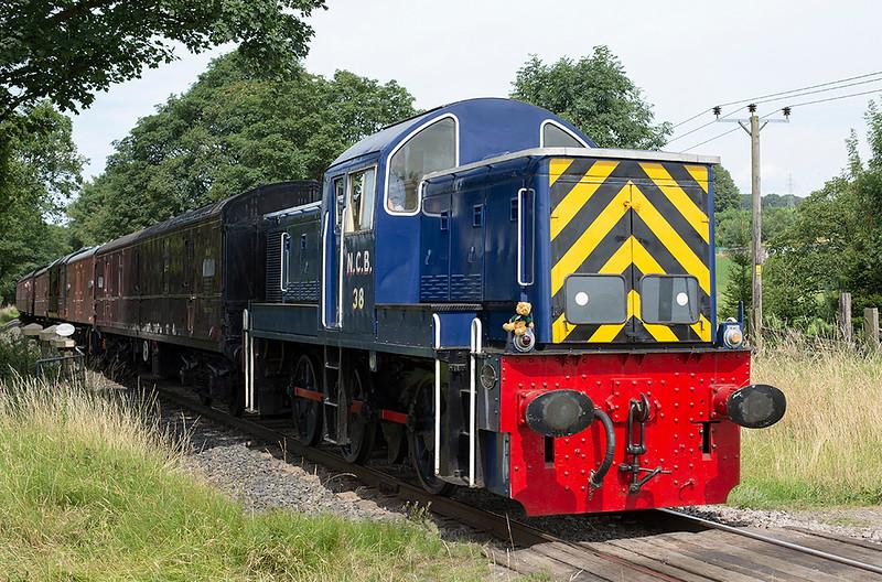 D9513 Walmersley 26/7/2014<br /> 2E26 1255 Ramsbottom-Bury Bolton Street