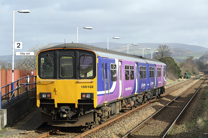 150132 Langho 27/2/2014<br /> 2N59 1100 Manchester Victoria-Clitheroe