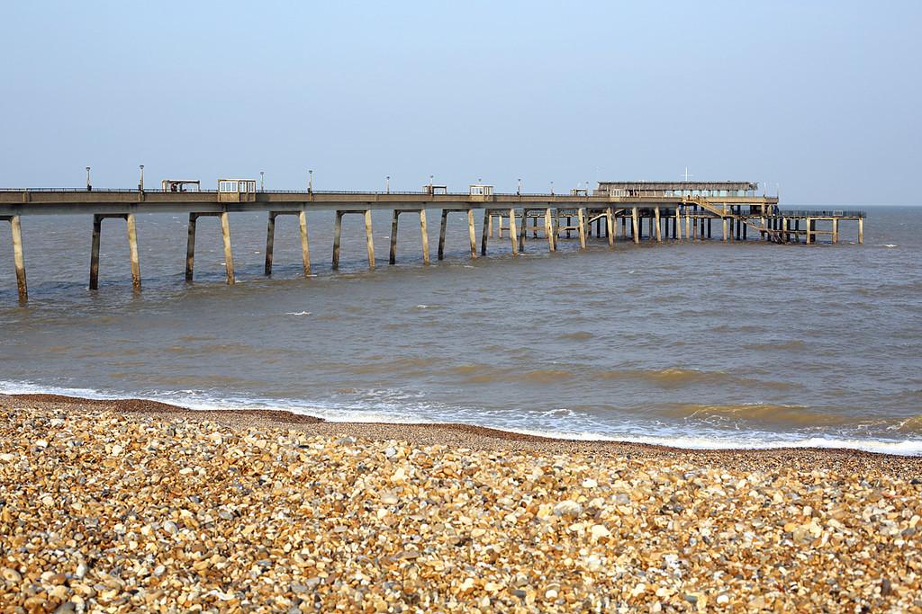 Deal Pier, Kent, 27/3/2014