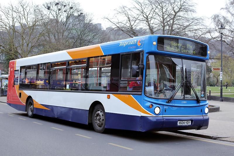 22004 X604VDY, Dover 27/3/2014