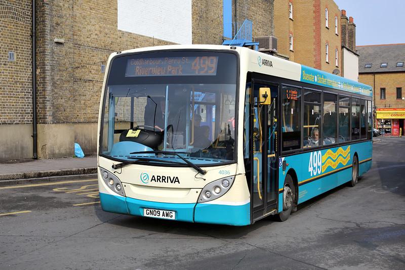 4036 GN09AWG, Gravesend 27/3/2014