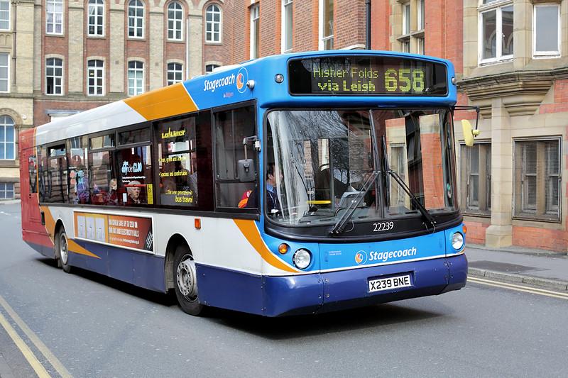 22239 X239BNE, Wigan 28/3/2014
