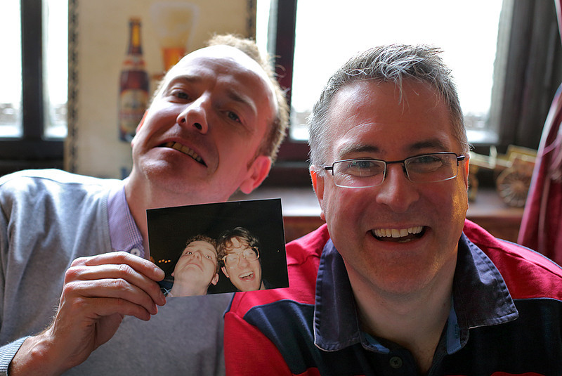 Rob Chisholm and Craig Rothwell, Huddersfield 29/3/2014