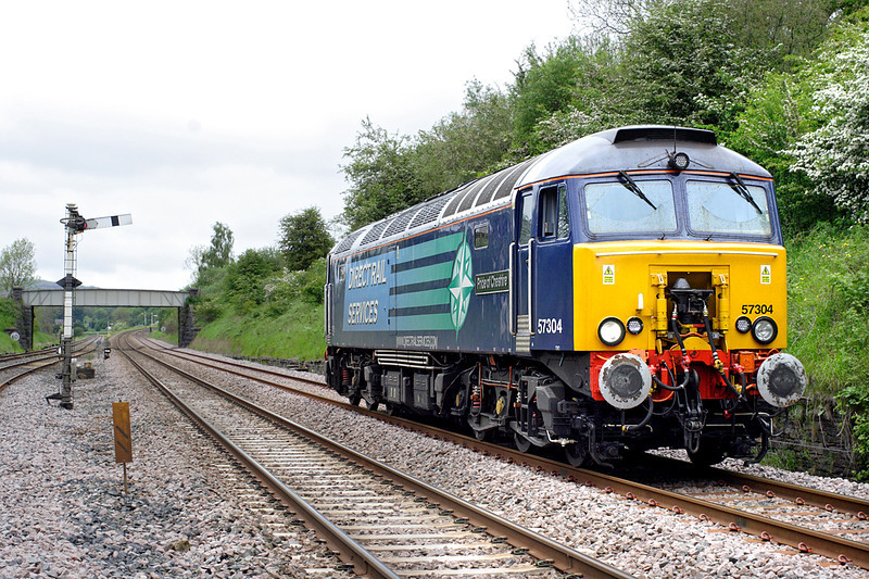 57304 Settle Junction 29/5/2014<br /> 0P99 1433 Carlisle-Preston