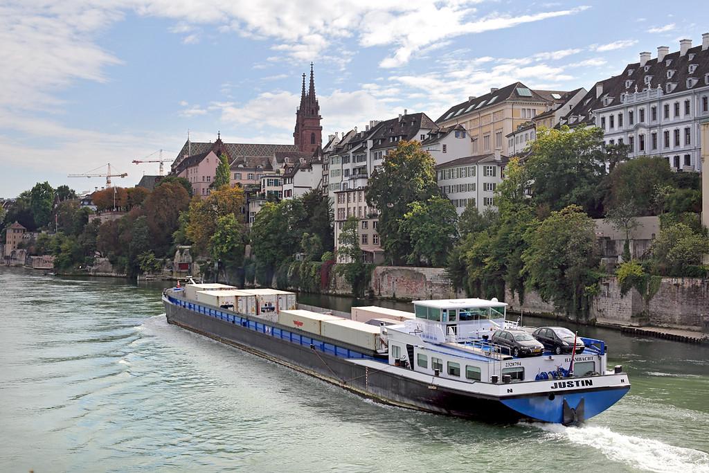 'Justin', River Rhine, Basel, Switzerland 29/9/2014