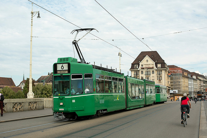 666 and 1457, Mittlere Brücke 29/9/2014