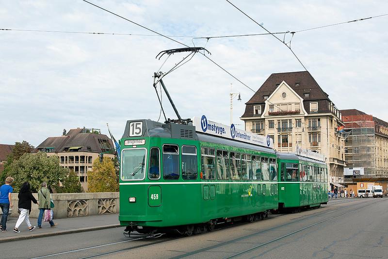 459 and 1472, Mittlere Brücke 29/9/2014