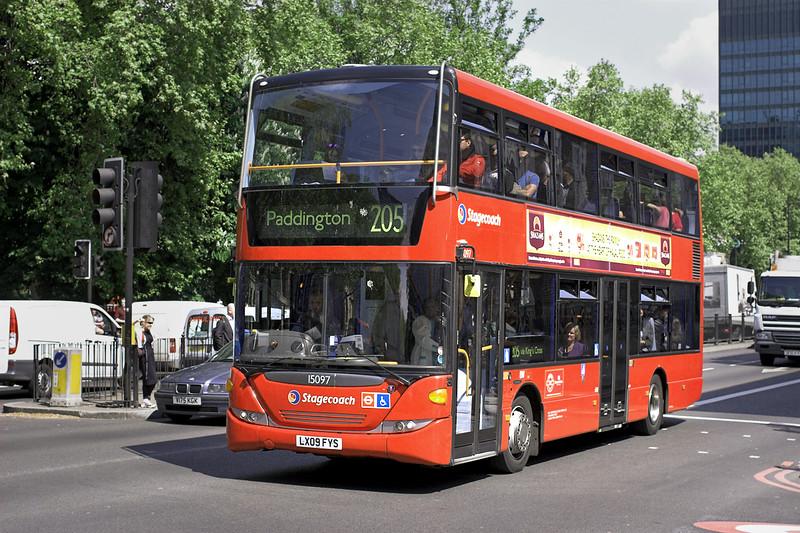 15097 LX09FYS, Euston 30/4/2014