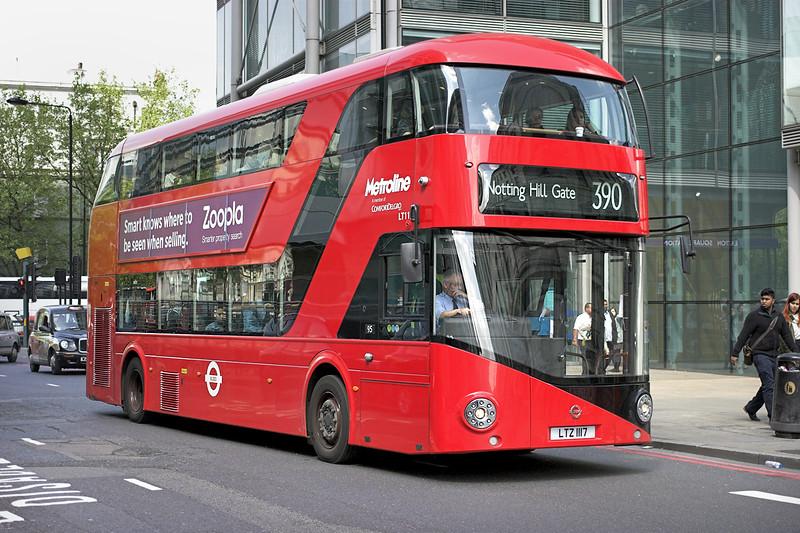 LT117 LTZ1117, Bloomsbury 30/4/2014