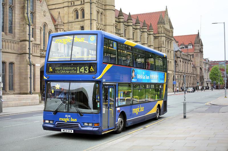 17648 W531GCW, Manchester 30/5/2014