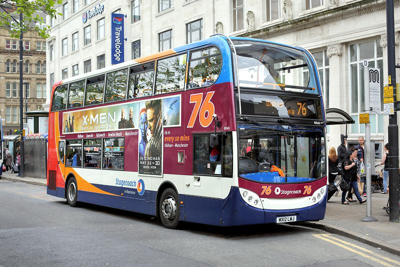 10043 MX12LWJ, Manchester 30/5/2014