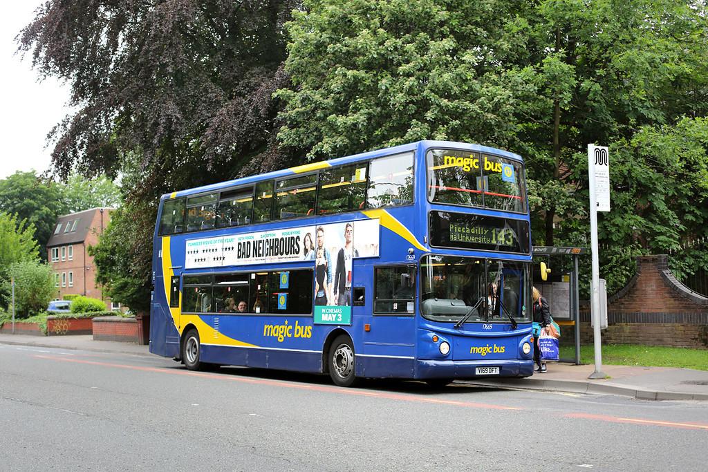 17669 V169DFT, Fallowfield 30/5/2014
