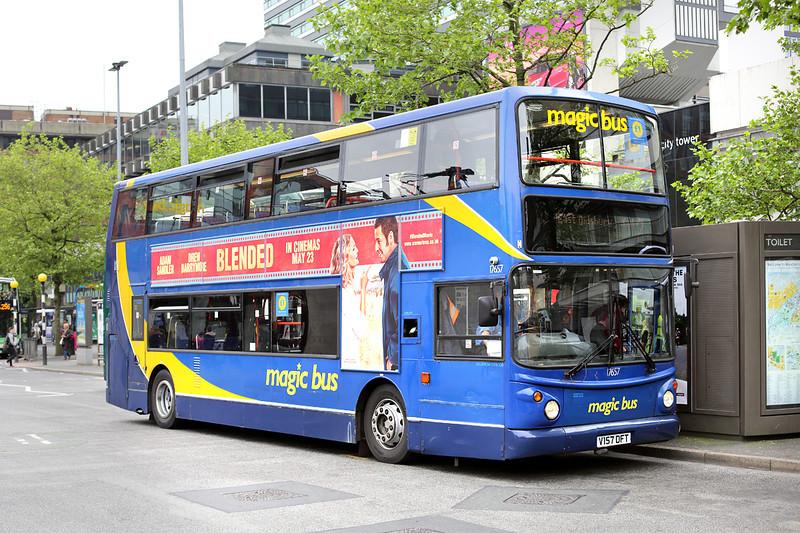 17657 V157DFT, Manchester 30/5/2014