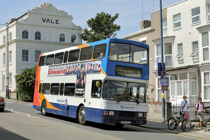16299 R299HCD, Ramsgate 31/7/2014