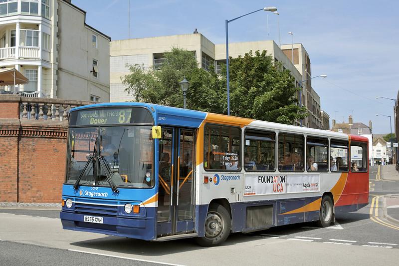 20955 R955XVM, Ramsgate 31/7/2014