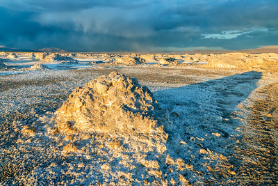 Mono Lake (North Side) Salt Formations
