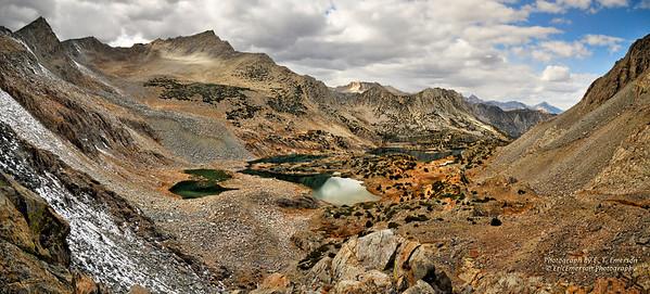 South Lake to Bishop Pass Hike