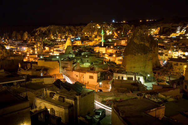 Goreme night view
